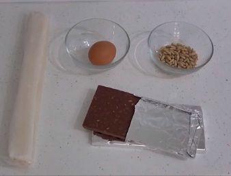 trenza de chocolate