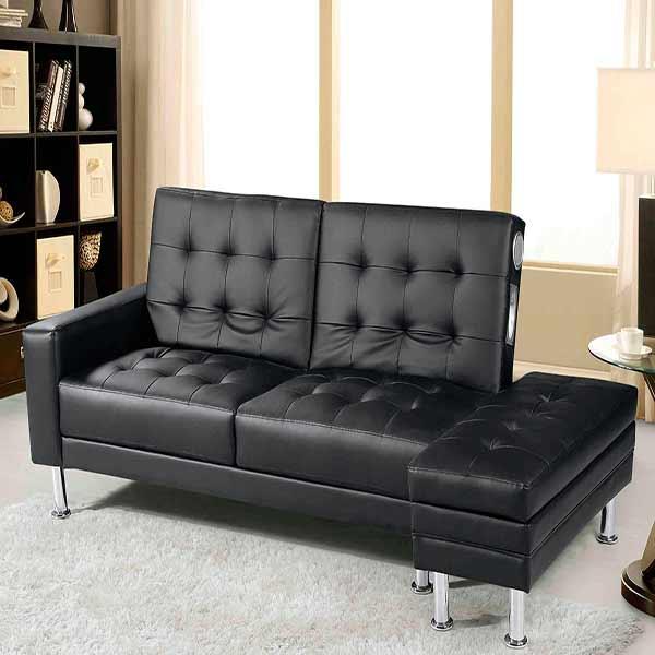 12 muebles para casas peque as decoraci n for Sillon cama amazon