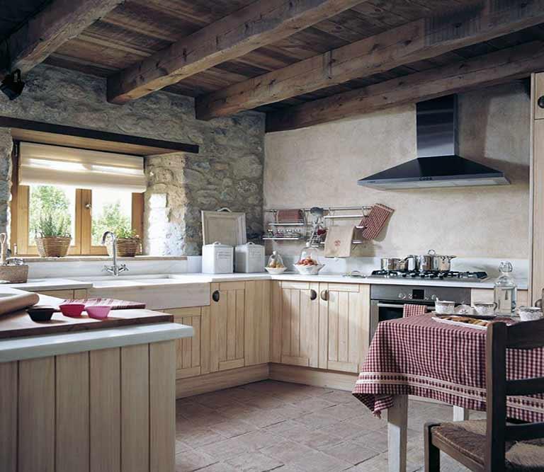 C mo decorar una cocina de forma r stica decoraci n - Como decorar una cocina rustica ...