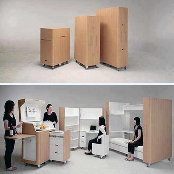 12 muebles para casas peque as decoraci n - Muebles para habitacion pequena ...