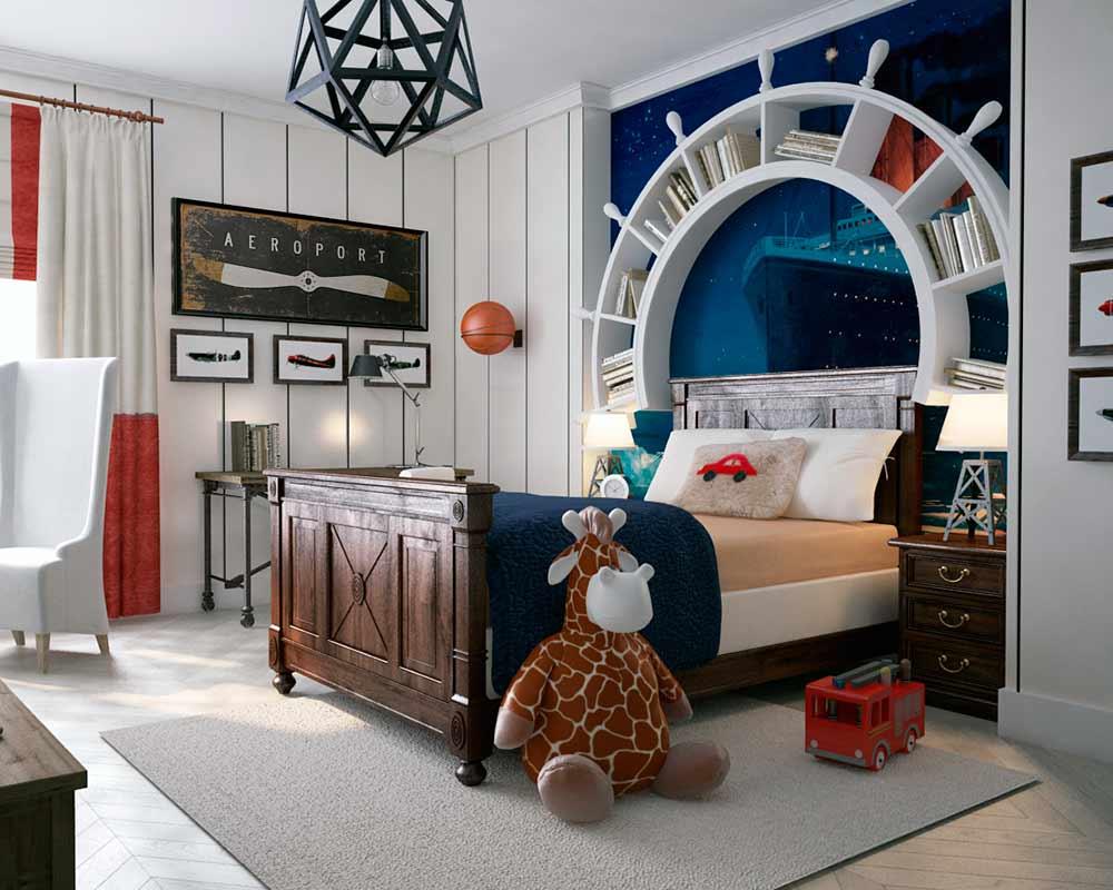 9 habitaciones decoradas al estilo marinero la mansi n - Webs de decoracion ...