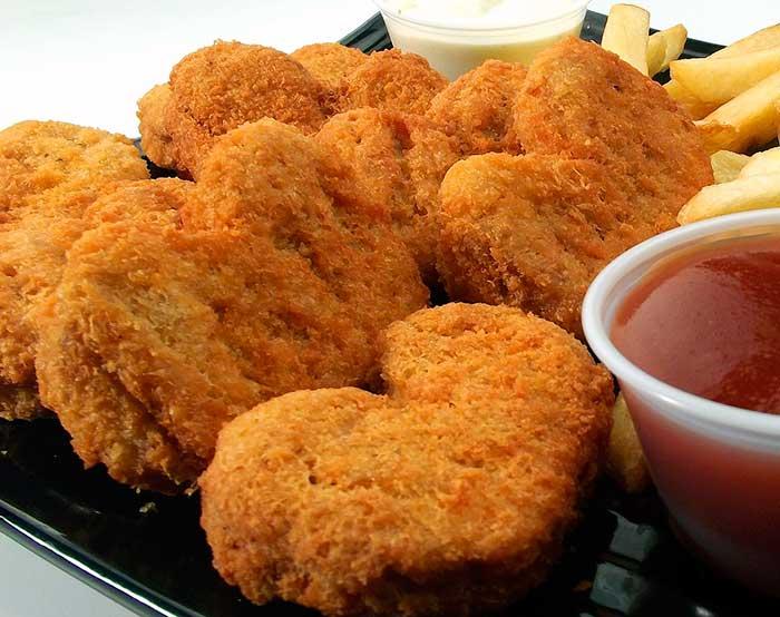 nuggest de pollo