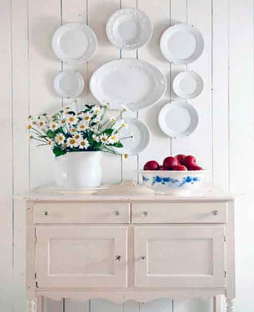 Platos para decorar paredes la mansi n de las ideas - Como decorar platos ...