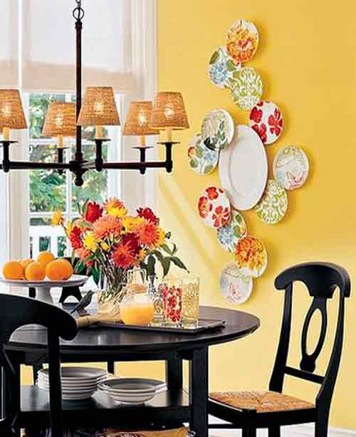 Platos para decorar paredes la mansi n de las ideas - Decorar las paredes de la cocina ...