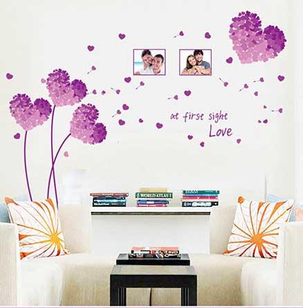 Decorar paredes con vinilos adhesivos la mansi n de las ideas - Decoracion paredes vinilos adhesivos ...