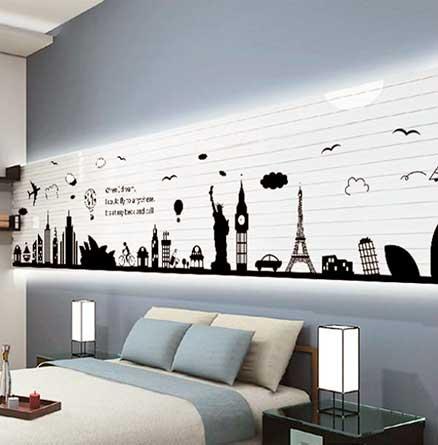 Decorar las paredes con fotos best with decorar las paredes con fotos affordable platos with - Fotos en vinilo adhesivo ...
