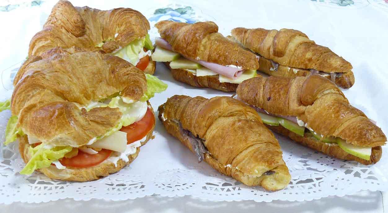 Rellenos salados para croissants la mansi n de las ideas for Cenas faciles y economicas