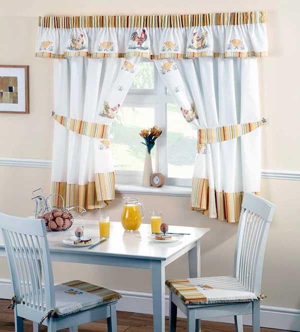 Cocina nordica cortinas - Ideas cortinas cocina ...