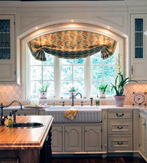 Cortinas para cocinas - La mansión de las ideas