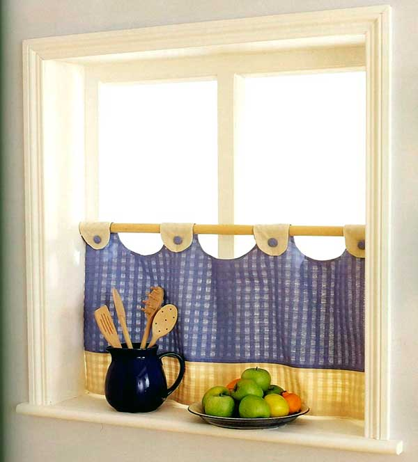 Cortinas para cocinas la mansi n de las ideas - Que cortinas poner en la cocina ...