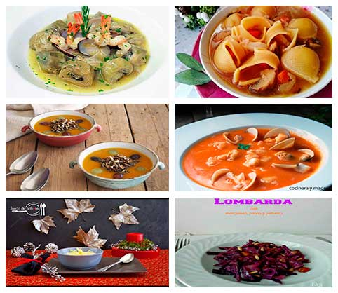 Sopas y cremas for Platos para ocasiones especiales