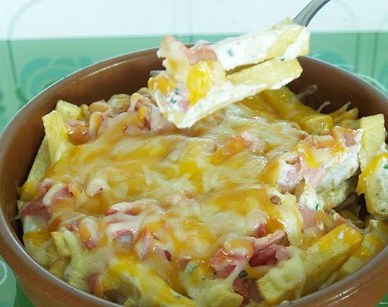 patatas estilo foster