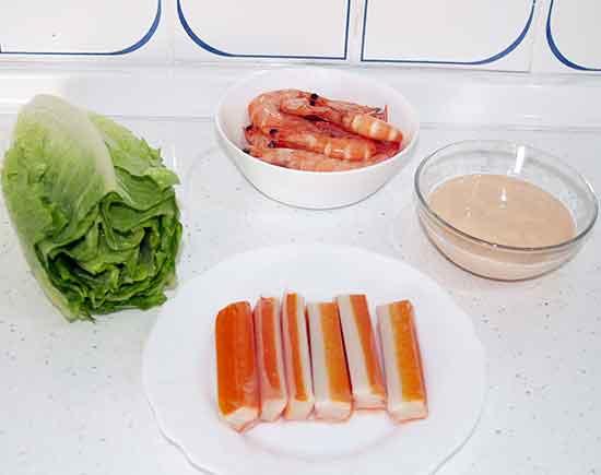 C ctel de marisco con langostinos la mansi n de las ideas - Coctel de marisco ingredientes ...