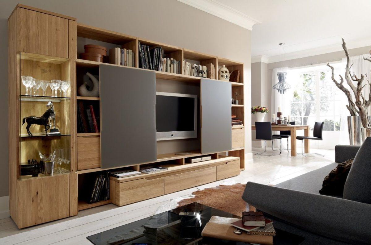 Muebles modernos de televisi n la mansi n de las ideas - Muebles con puertas correderas ...