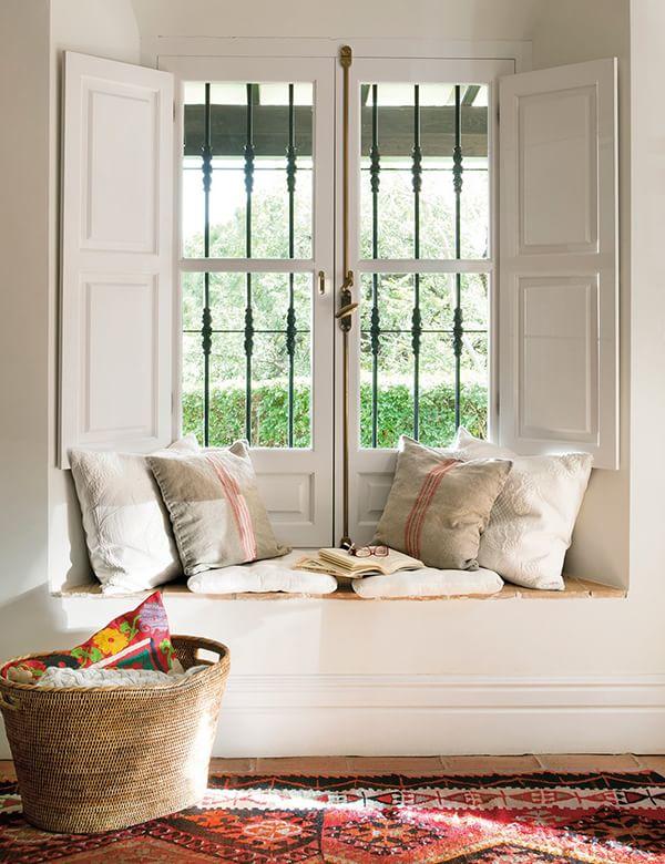 Asientos para ventanas la mansi n de las ideas - Fotos de bancos para sentarse ...