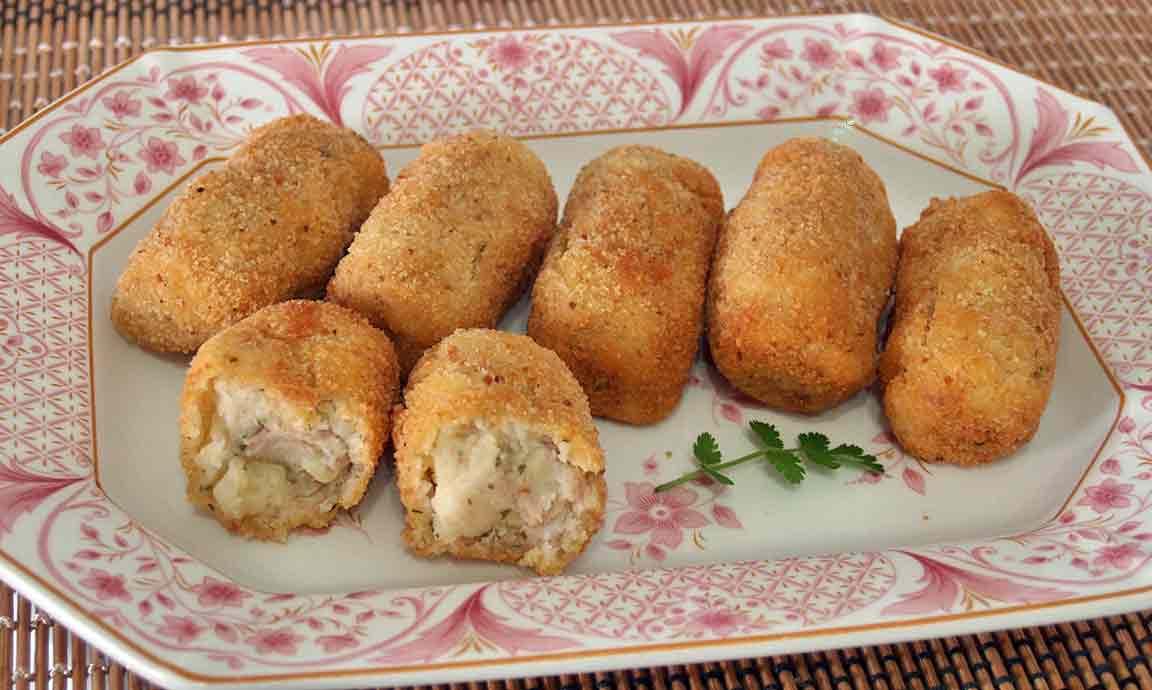 Croquetas de patata y atún