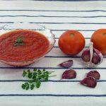 Salsa de tomate en 10 minutos
