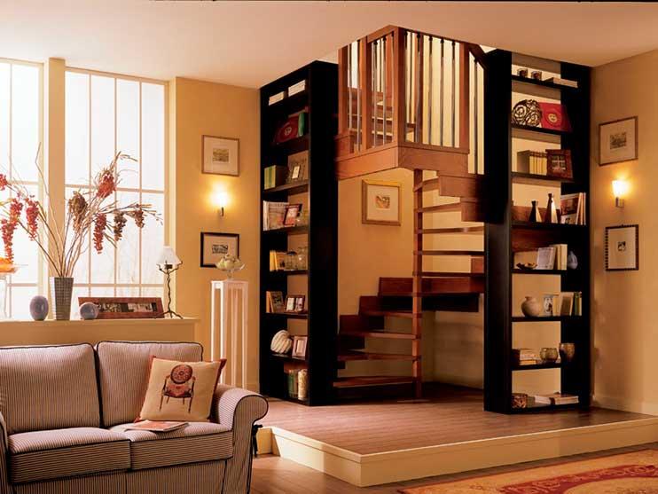 10 modelos de escaleras para casas la mansi n de las ideas for Escaleras de viviendas