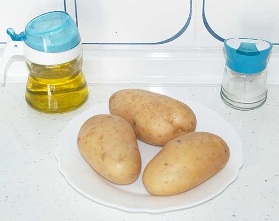 como hacer patatas fritas sin aceite
