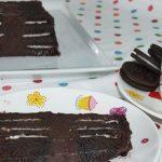 Tarta Oreo de chocolate sin horno