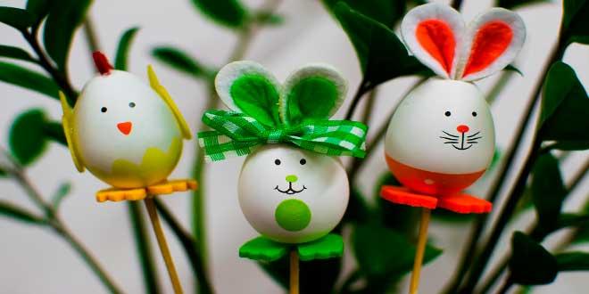 huevos-para-decorar,-huevo-decorados-fieltro-animales-macetas