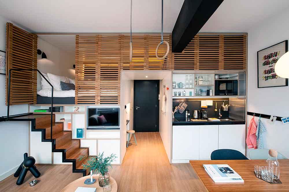Como Decorar Apartamentos Tipo Estudio La Mansion De Las Ideas - Decoracion-apartamentos