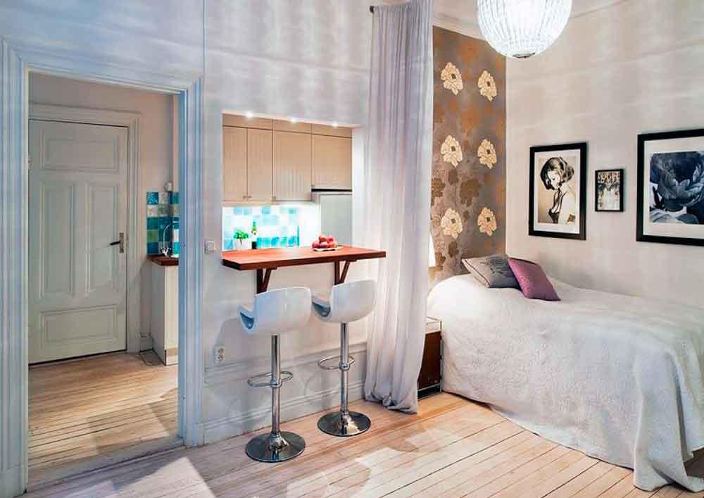 C mo decorar apartamentos tipo estudio la mansi n de las - Como decorar un estudio pequeno ...