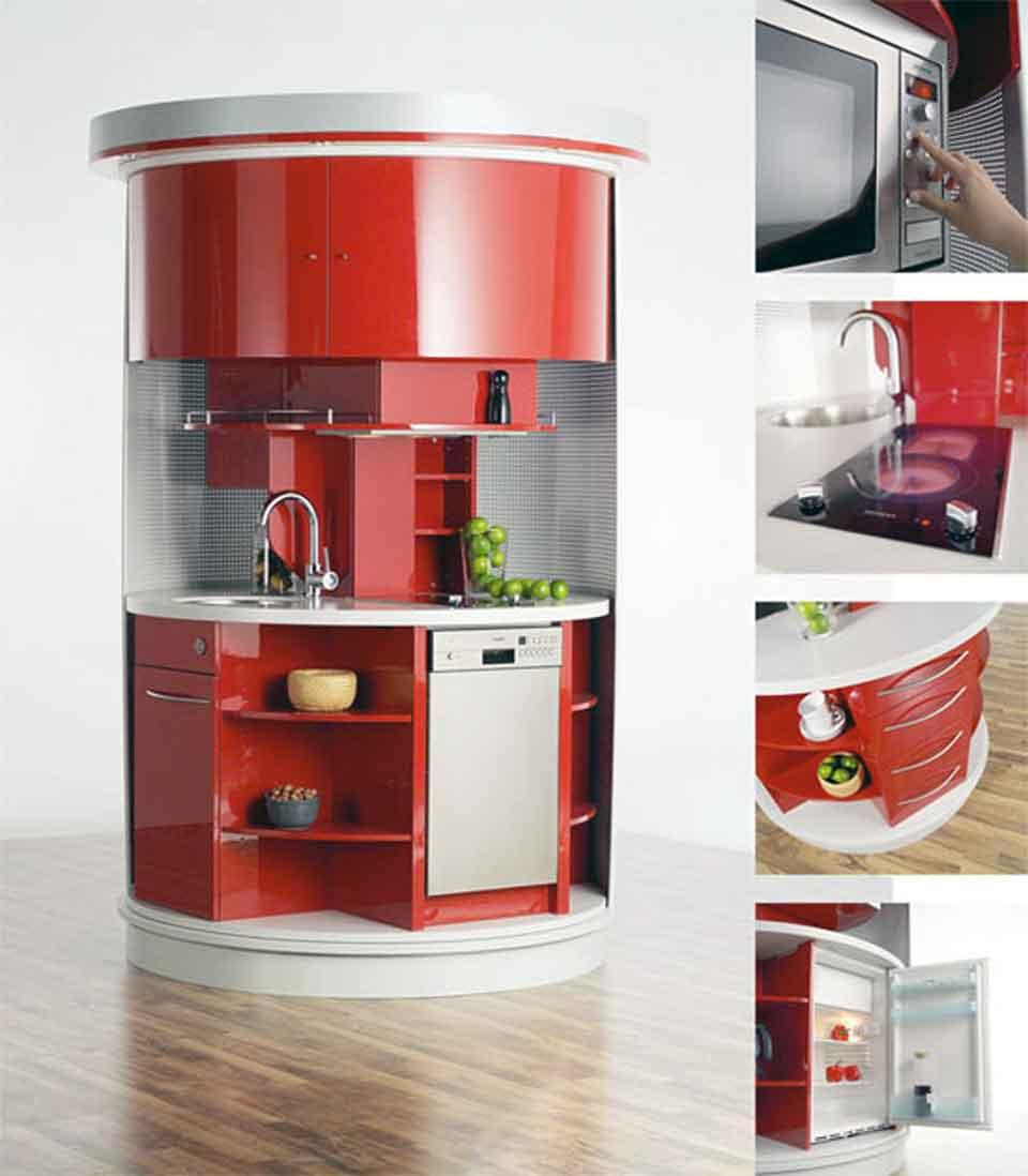 10 muebles funcionales para casas peque as la mansi n de for Muebles de cocina funcionales