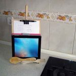 Soporte de tablets para cocina