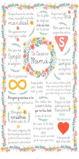 dia-madres-2017,-cartel-te-quiero-mama,-dar-gracias-a-tu-madre