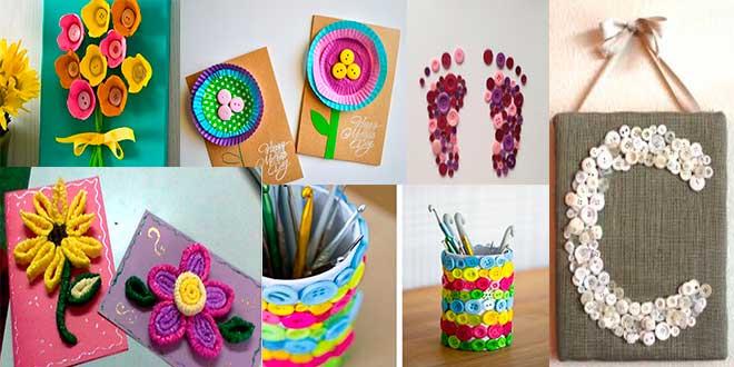 dia-madres-2017,-manualidades-con-botones,-botones-y-papel-magdalenas,-botones-y-hueveras,-tarjetas-con-limpia-pipas
