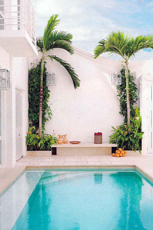 17 piscinas peque as para jardines minis la mansi n de for Piscinas alargadas y estrechas