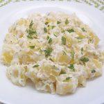 Patatas con alioli. Receta fácil, rápida y muy económica