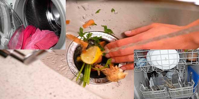 vinagre BLANCO,-limpieza-de-lavavajillas,-lavadora-y-triturador-de-basura