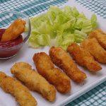 Fingers de pollo caseros