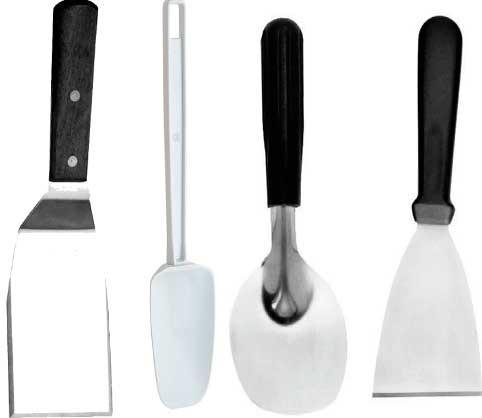 limpiar, congelador, freezer, nevera-espátulas de cocina