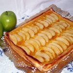 Tarta de manzana con flan por menos de 3 euros