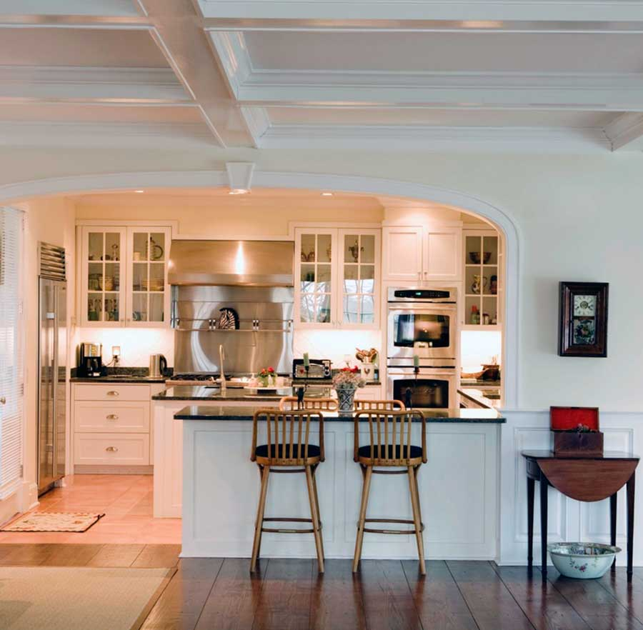 Sillas altas de cocina reposapis taburete taburetes de - Taburetes para cocina americana ...