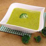 Crema de brócoli fácil y rápida