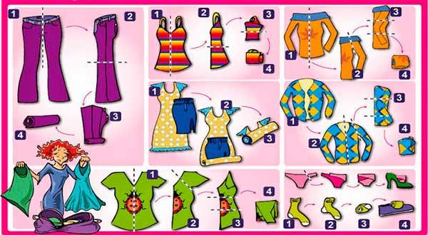 maleta-vacaciones-avion-ropa-vuelos-baratos-doblar-ropa-enrollandola