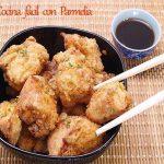 Pollo frito japonés