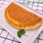 Tortilla soufflé con queso