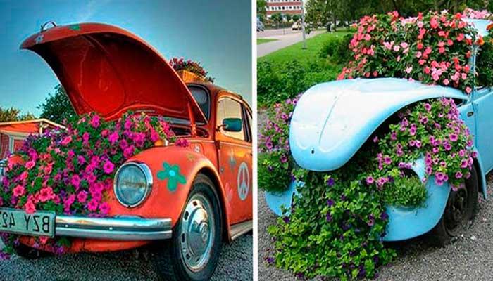 macetas,-reciclaje,-plantas,-coches,-escarabajos,-dos-caballos