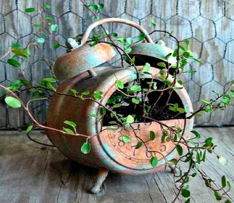 macetas,-reciclaje,-plantas,-despertador