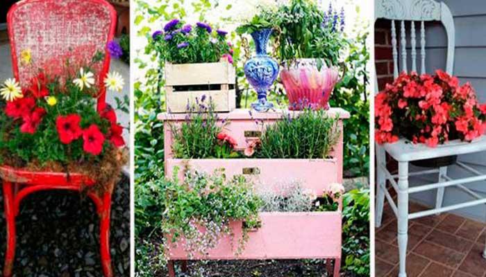macetas,-reciclaje,-plantas,-reciclaje-de-muebles,-sillas,-comoda