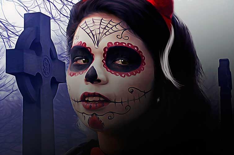 recomendaciones para maquillarte en Halloween