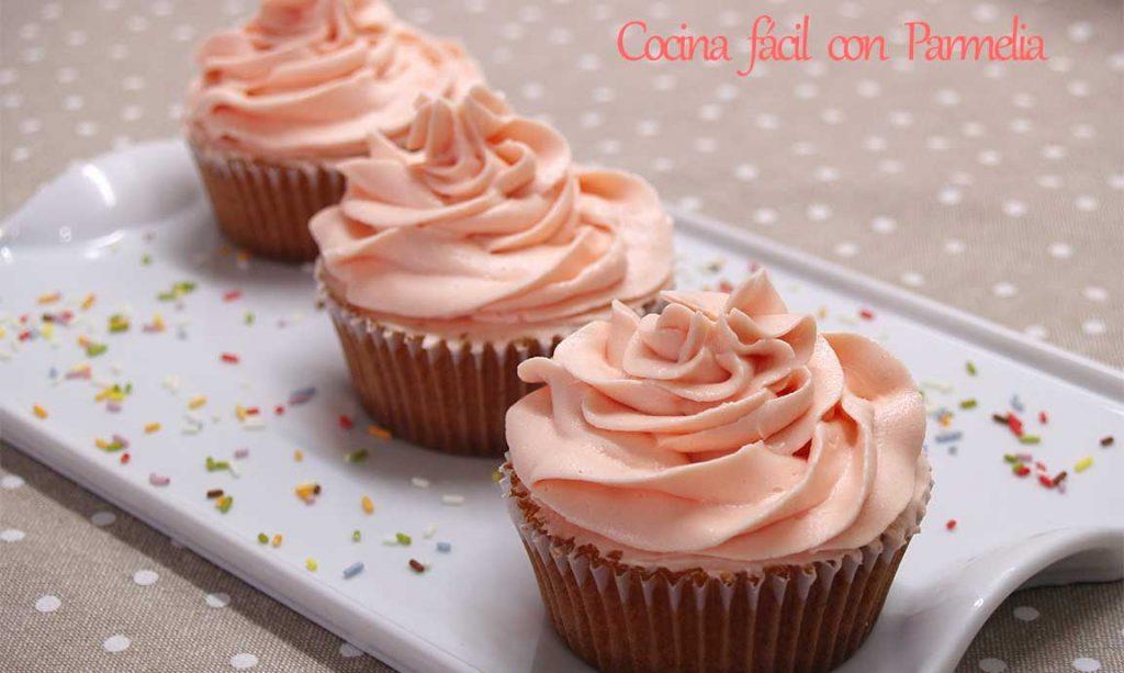 Buttercream o frosting para decorar tartas y más