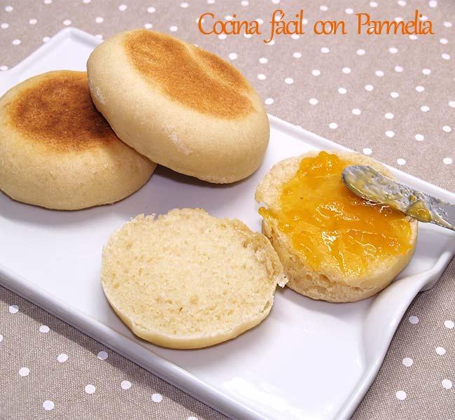 Pan casero hecho en sartén ¡Sin horno!