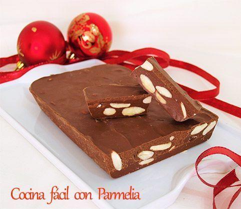 TURRON-DE-CHOCOLATE-CON-ALMENDRAS