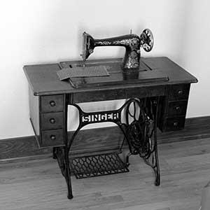 Cómo reciclar un pie de máquina de coser